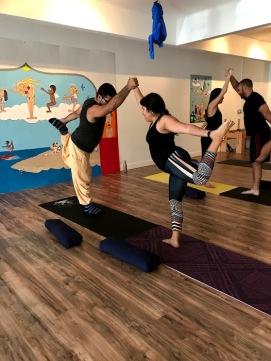 Adult Partner Yoga